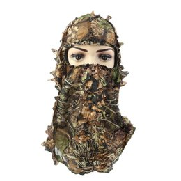 Camouflage hunting Cap online shopping - CS Hooded Mask Scarf Hat Tactical Headgear Caps Camouflage Hunting Mask Outdoor Hunting Fishing Camou Hat