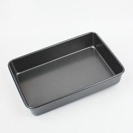 Discount chicken stick - MAIBAO Non-stick Cake Cookies Water Chicken Potato Pie Bath Baking Tray Rectangle Heavy steel Baking Tray Mold for Oven