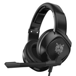 $enCountryForm.capitalKeyWord UK - ONIKUMA K19 Headphones RGB Light Subwoofer Wired Headset PS4 Noise Cancelling Over ear LED Light 3D Sound Effect Gaming Headphones