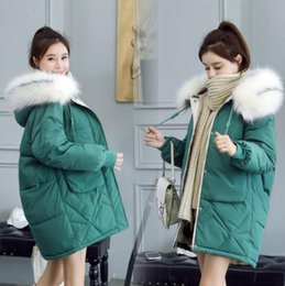 green hooded womens parka Australia - Luxury Women Designer Down Jackets New Brand Parkas For Womens Down Coats Fashion Hooded Thick Female Jackets 6 Colors Size M-3XL