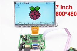 $enCountryForm.capitalKeyWord Australia - 7 inch 800*480 LCD Monitor Display Screen with Driver Board HDMI VGA 2AV for Raspberry Pi 3   2 Model B