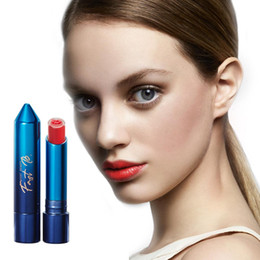 Discount sexy waterproof stick - Hotest 3 Colors Lipstick Waterproof Nude Matte Lipstick Lip Sexy Red Lips Tint Women Makeup Cosmetics Lip Stick