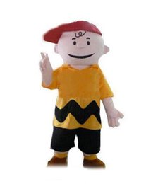 Movie character fancy dress online shopping - 2018 High quality cartoon character charlie brown mascot costume fancy dress costumes adult costume