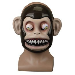 $enCountryForm.capitalKeyWord Canada - Animal Mask Themed Costumes Monkey Orangutan Mask Cosplay Prop Halloween Accessories Men Women Face Mask Full Head