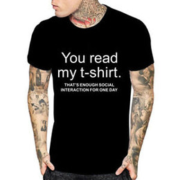 $enCountryForm.capitalKeyWord Australia - You Read My T Shirt Sarcastic Adult Graphic Gift Idea Funny Novelty Casuals Tees