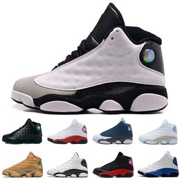 1b1e80be99b 13 13s Mens Basketball Shoes Melo class of 2002 Phantom Grey Toe Bred Wheat  Black Cat Chicago Love Respect mens sports designer sneakers