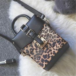 $enCountryForm.capitalKeyWord Australia - Designer-Women Handbags PU Leather Brand Leopard Print Inserts Small Square Box Bags Flap New Rivet Handbag Bag Ladies Shoulder Bags