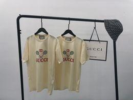 $enCountryForm.capitalKeyWord UK - Luxurious Italy Brand Design Tshirt Short Sleeve Crewneck Tee Breathable Men Women Lovers Fashion Tennis racket Outdoor Streetwear T-shirt
