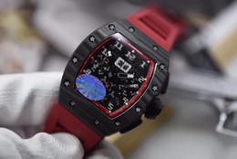 $enCountryForm.capitalKeyWord Australia - Mens Basel World KV Date n Mens Watch ETA 7750 Full Forged Carbon Case Chronograph Automatic Men Sport Wristwatches