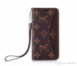 Flower Flip phone case online shopping - Old flower plaid flip wallet leather case phone case cover for iphone Xs max Xr X plus plus plus with card slot