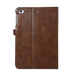 Mini Tablet Wifi Australia - Classic Business Imitation Leather Case Cover For ipad mini 4 High Quality PU Leather Folding Stand Tablet Case