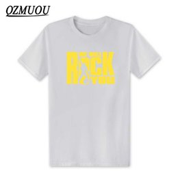 New T Shirts Rock Style Men Australia - mens designer clothes brand polo New Fashion We Will Rock You men T Shirt Summer Style Queen Rock Band T-shirt Cotton Rock Roll