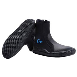 $enCountryForm.capitalKeyWord Australia - TOP!-Yon Sub Neoprene Diving Shoes High Upper Scuba Anti Slip Diving Boots Keep Warm Swim Shoes Fishing Winter Swimming Fins A