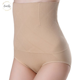 seamless corset shapers underwear Australia - Seamless Women Shapers High Waist Slimming Body Control Knickers Pants Pantie Briefs Magic Tummy Shapewear Lady Corset Underwear