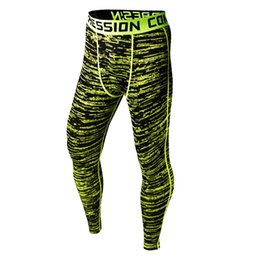 Chinese  Mens Mesh Camo 3D Print Compression Pants Casual Camouflage Jogger Tights Fitness Joggers Base Layer Skinny Men Leggings manufacturers