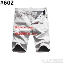 $enCountryForm.capitalKeyWord Australia - Men s Distressed Ripped Skinny Jeans Fashion Designer Shorts Jeans Slim Motorcycle Moto Biker Causal Mens Denim Pants Hip Hop Men Jeans #802