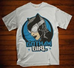 $enCountryForm.capitalKeyWord Australia - Bat Tshirt Gotham Girl Super Hero Sexy Film Movie cosplay tv 50s 60s 70s 80s 90s