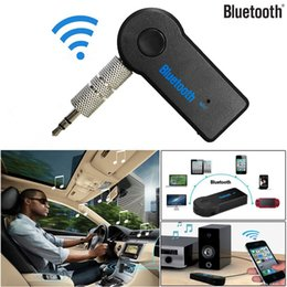 $enCountryForm.capitalKeyWord Australia - Handfree Car Bluetooth Music Receiver Universal 3.5mm Streaming A2DP Wireless Auto AUX Audio Adapter With Mic for phone MP3