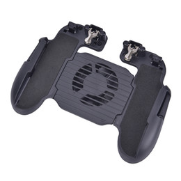 Chinese  Cooling Fan Charging Handle Gamepad Joystick Holder Gaming Controller Power Bank for Mobile Phone manufacturers