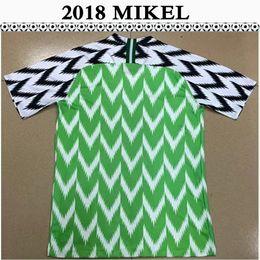 Thailand Shirts Australia - 2018 MIKEL AHMED MUSA Mens Soccer Jerseys IHEANACHO Home Green Football Shirts 2019 New National Team OKECHUKWU Top Thailand Uniforms