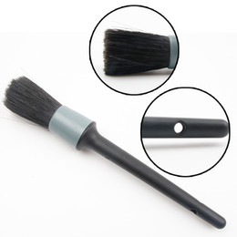 Details Auto Australia - 2019 Car Detailing Brush Cleaning Natural Boar Hair Brushes Auto Detail Tools Products 1Pcs Wheels Dashboard Car Accessories