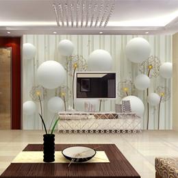 5d13f38db0d Mural personalizado Papel de pared 3D Estilo europeo Salón TV Fondo Papel  tapiz Murales Dormitorio Papel tapiz no tejido Moderno a rayas