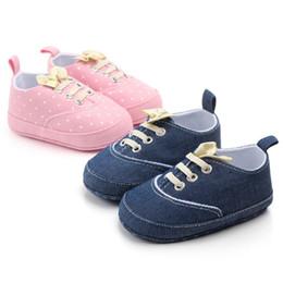 $enCountryForm.capitalKeyWord Australia - SHL 200pair Baby Spring Autumn Polka Dot Shoes for Girls Kids Soft Sole First Walkers Casual Walking Crib Shoes