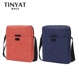Hand Bags Types NZ - Fashion Casual Simple Crossbody Bag For Men Male Retro Canvas Single Shoulder Hand Bags Couple Types Messenger Bag Pouch Handbag