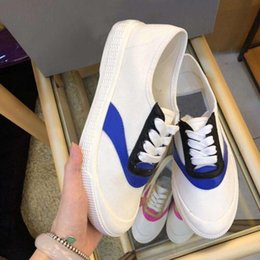 Spring Fall Canvas Shoes Australia - Luxury 2019 spring lazy shoes women casual four seasons shoes designer brand shoes wild Martin canvas sheepskin mix and match fashion