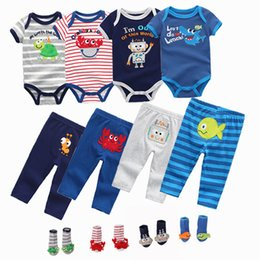 boys short transparent NZ - Summer Baby Boy Girl Bodysuits Short Sleeve O-neck 6-12m Baby Jumpsuit Girls Ropa Bebe Baby Girl Clothes MX190720