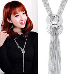 $enCountryForm.capitalKeyWord Australia - Boutique Necklace Tassel Necklace Baitalu sweater chain Student Choker clavicle chain Gift accessories Handcrafted Pendant Personal accessor