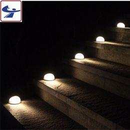 $enCountryForm.capitalKeyWord NZ - Solar Powered Step Lights 6 LEDS Waterproof Weatherproof Outdoor Lighting for Steps Stairs Paths Patio Decks