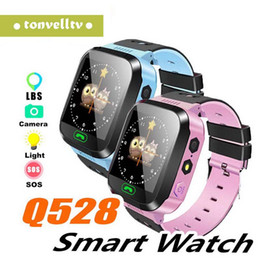 $enCountryForm.capitalKeyWord Australia - Q528 Y21 Touch Screen Kid GPS Smart Watch With Camera Flashlight Baby Watch SOS Call Location Tracker for Kid Safe pk Q50 q90