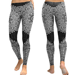 Xl Womens Leggings Australia - 2019 New Print Yoga Pants Gym Clothing Womens Yoga Pants Fitness Leggings Workout Sports Running Leggings Sexy Push Up Gym Wear