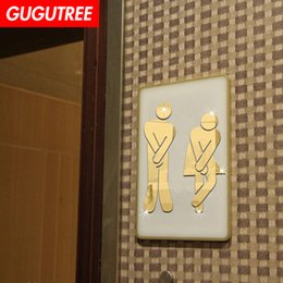 $enCountryForm.capitalKeyWord NZ - Decorate Home 3D toilet cartoon mirror art wall sticker decoration Decals mural painting Removable Decor Wallpaper G-336
