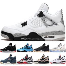 Genuine leather stockinGs online shopping - In Stock New Bred s What The Cactus Jack Laser Wings Mens Basketball Shoes Denim Blue Eminem Pale Citron Men Sport Designer Sneakers