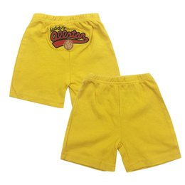 wholesale kids pencil pants NZ - 5pcs pack Baby Shorts Summer Infant trousers kids Boys Girls Clothes beach shorts Sport PP pant baby's Clothing