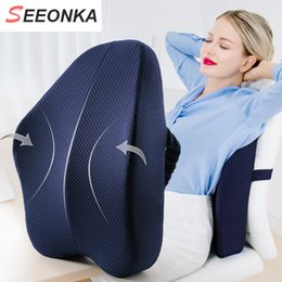 $enCountryForm.capitalKeyWord Australia - Big Size Full Lumbar Support Best Premium Back Pillow For Office Desk Chair Car Seat Sofa Ergonomic Relieve Lower Sciatica Pain SH190713