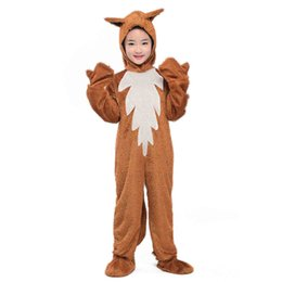 $enCountryForm.capitalKeyWord Australia - Kids Fox Costume Cute Animal Onesies What the Fox Say Fancy Dress Jumpsuit with Hood Gloves Outfit Children Carnival Costumes
