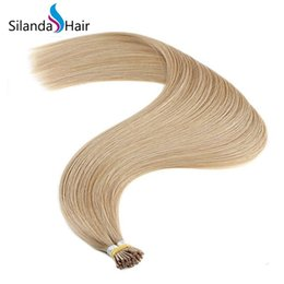 $enCountryForm.capitalKeyWord Australia - Silanda Hair #24 Straight Stick Tip I Tip Bonded Fusion Remy Human Hair Extensions 1g s 50 strands pack Free Shipping