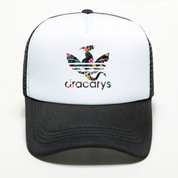 wholesales game thrones Australia - New Brand Dracarys Game of Thrones Baseball Cap Women Men Snapback Mesh Hat Trucker Outdoor Sports Shade Cap 2019