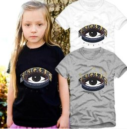 $enCountryForm.capitalKeyWord Australia - Fashion Kids t Shirt Children Designer label Short sleeves T shirt Boys Tops Clothing Brand Solid Tees Boy Girls shirts