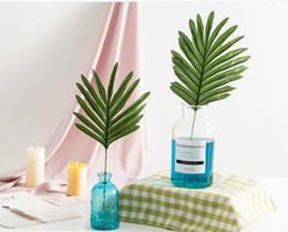 $enCountryForm.capitalKeyWord Australia - New Arrival Artificial palm leaves Green plants Decorative Artificial flowers for decoration DIY Home Decor wedding decoration