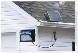 Solar Panels 12 Australia - Solar Light 12 LEDs Motion Sensor Wall Light Separable Solar Panel In Outdoor Solar Lamp IP65 Waterproof Street Lamp
