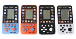 $enCountryForm.capitalKeyWord Australia - JRGK Data Frog Portable Childhood Tetris Handheld Game Players Mini Game Console For Children Intelligence Toys Tank Games dhl free