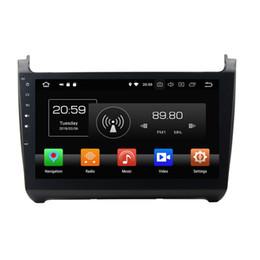 "$enCountryForm.capitalKeyWord UK - Octa Core 2 din 10.1"" Android 8.0 Car DVD Radio GPS for VW Volkswagen Polo With 4GB RAM 64GB ROM Bluetooth USB Mirror-link"