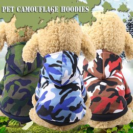 $enCountryForm.capitalKeyWord Australia - Camouflage Cute Dog Clothes For Small Dogs Winter French Bulldog Coat Dog Halloween Costume Chihuahua Puppy Hoodies Pet Clothes
