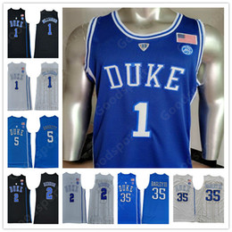 $enCountryForm.capitalKeyWord Australia - NCAA COLLEGE Stitched Blue Evil DUKE Zion Williamson R.J. Barrett Bagley III Cam Reddish IRVING ALLEN INGRAM PARKER SHIRTS Jerseys