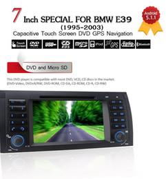"Rw Player Australia - Joyous 7"" Autoradio Quad Core 1024*600 Android Car DVD Player GPS Navigation For BMW 5 Series E39 X5 E53 M5 Head Unit AudioStereo"