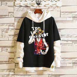 monkey sweatshirts hoodies UK - Anime cosplay Hoodie One Piece Portgas D Ace Tony Tony Chopper Monkey D. Luffy New Unisex Hoodie Clothing Sweatshirt